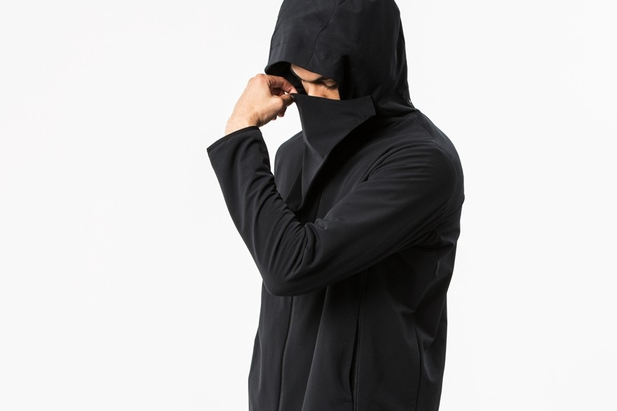 Experiment 047 - Alphacharge Hooded Cowlneck