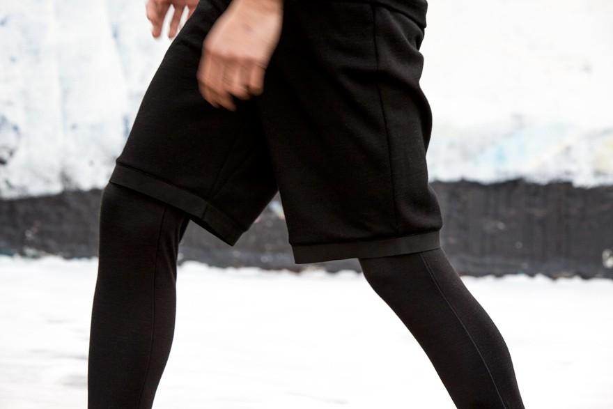 Ultramerinosuede Shorts