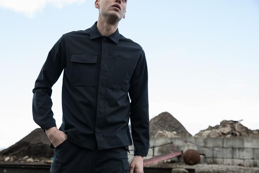 Wool 6,6 Hard Shirt
