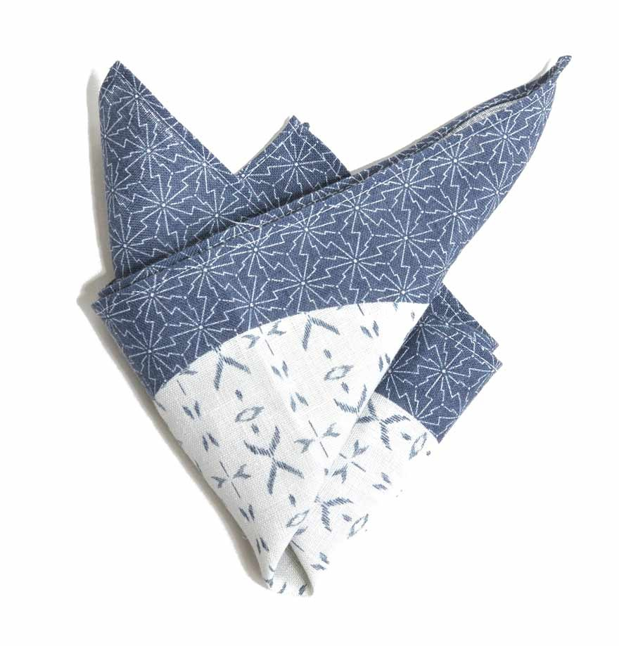 Digital Linen Handkerchief