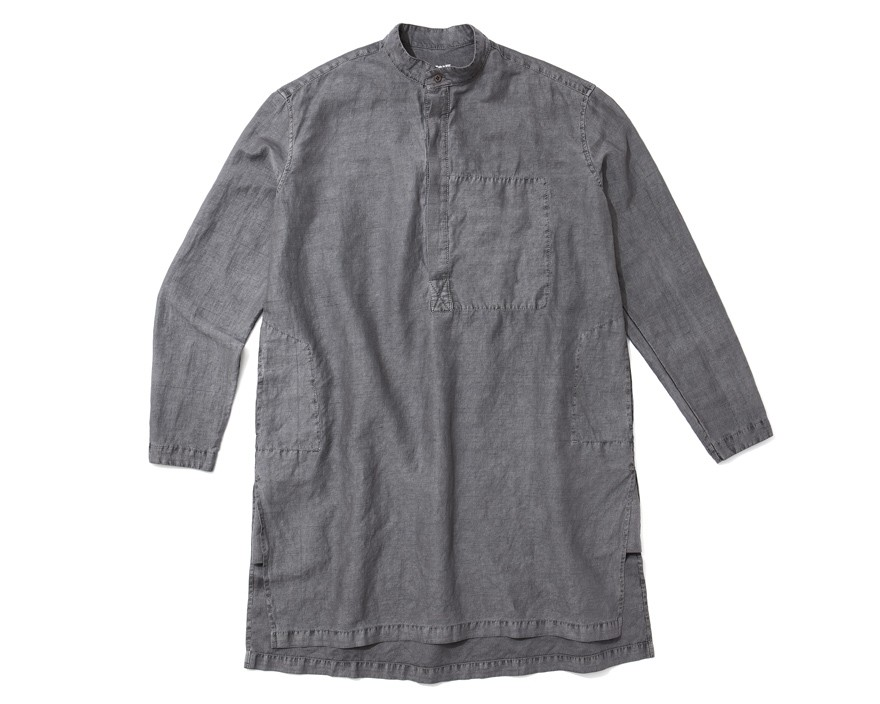 Experiment 078 - Injected Linen Tunic