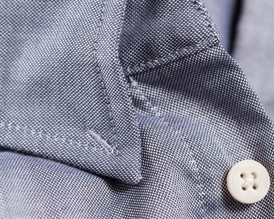 Experimental Tack Collar Shirt