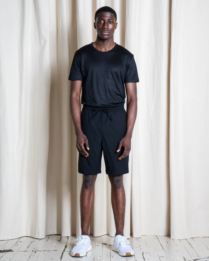 Experiment 098 - Open Wool Shorts
