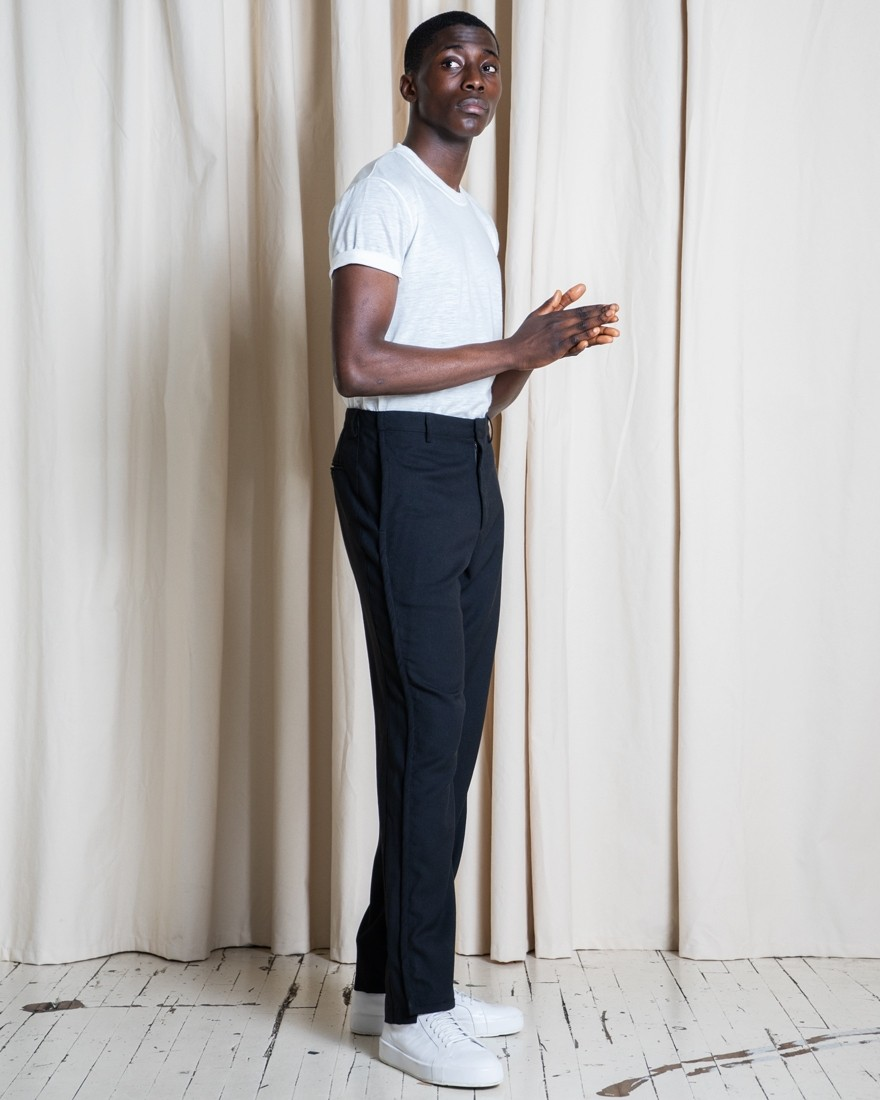 Experiment 099 - Open Wool Stripe Pant