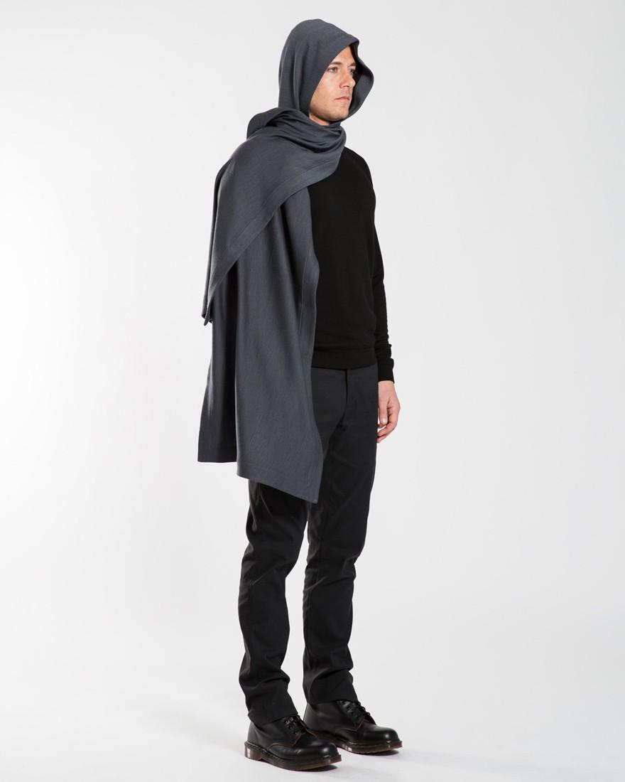 Doublefine Merino Hooded Scarf