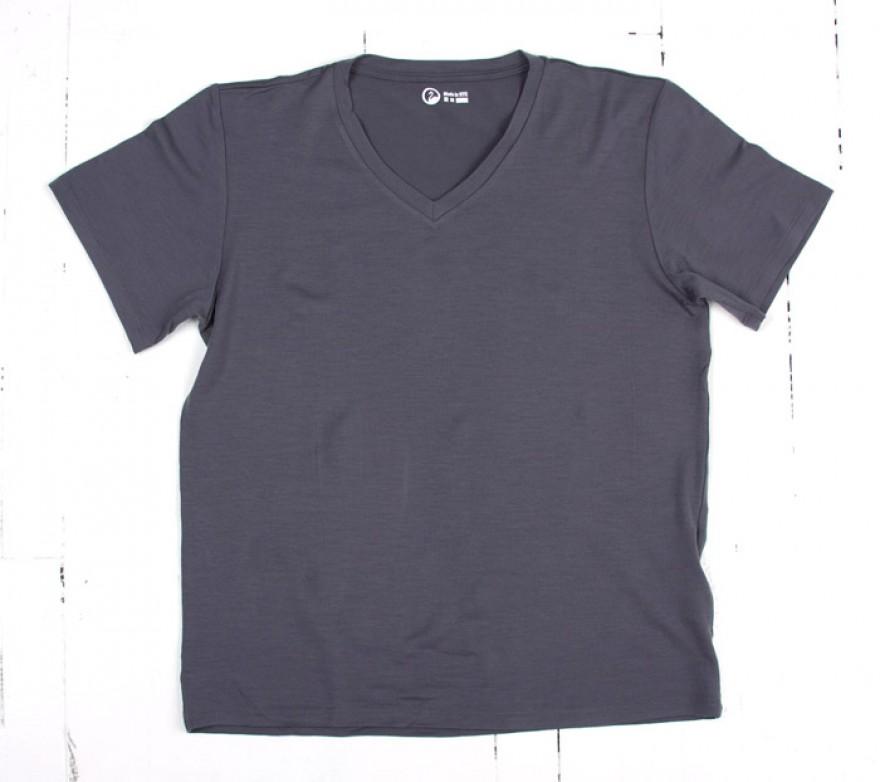 Short Stack Merino T-Shirt and V-Neck