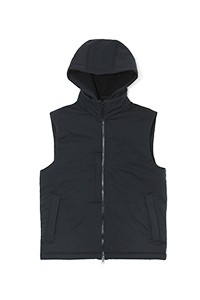 Experiment 045 - Doublewool Hooded Vest
