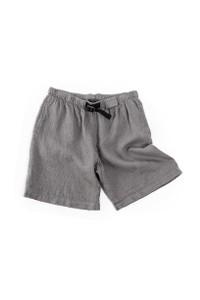Grid Linen Shorts