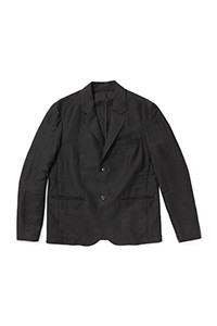 Injected Linen Blazer