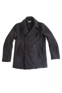 Liberated Wool Peacoat