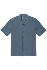 Ramielight Camp Collar Shortsleeve