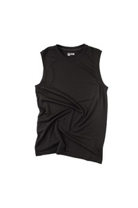 Sleeveless Merino T-Shirt