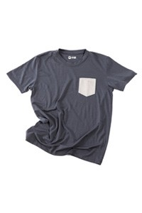 Ultramerinosuede Pocket Tee